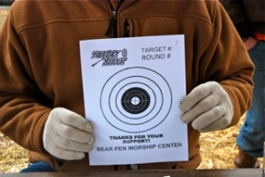 Turkey Shoot target